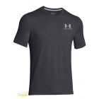 Camiseta Under Armour Charged Cotton Sportstyle - Cinza Chumbo