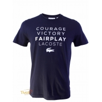 Camiseta Lacoste Courage Victory Fairplay
