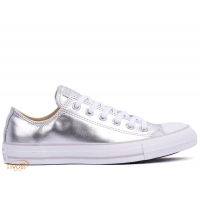 Tênis Converse All Star Mettalic Leather Ox