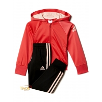 Agasalho Adidas Infantil Little Girls Knitted