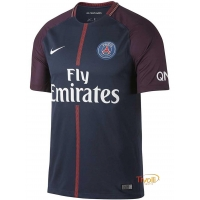 Camisa Infantil Paris Saint-Germain PSG 2017/2018 I Home Nike