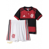 Mini Kit Flamengo I Home 2017/2018 Infantil Adidas