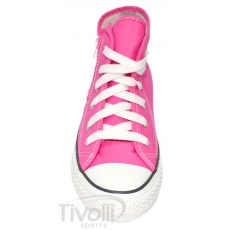 All Star Converse Seasonal Core Zip Kids - Rosa cano-alto e zíper 18 ao 25