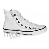 All Star Converse European Hi cano alto - Branco