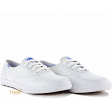Keds Champion Leather - branco couro