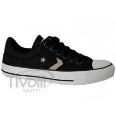All Star Converse Star Player Jeans OX - Jeans Preto