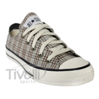 Converse All Star Specialty Plaid Girl - Xadrez Bege