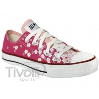 Converse All Star Print Flowers - Rosa Estampa de Flores