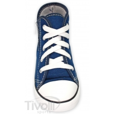 All Star Converse Seasonal Core Zip Kids - Azul-marinho cano-alto e zíper 26 ao 33