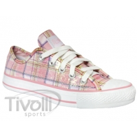 Converse All Star Specialty Sequins Ox - Xadrez Branco/Rosa