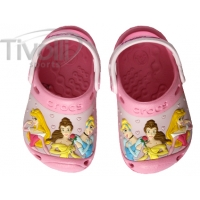 Crocs Disney Princesas - Rosa - princess
