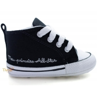 Tênis All Star Converse My First All Star Baby - Meu Primeiro All Star -  - Preto