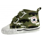 Converse Baby First Star Cars - Verde Estampado