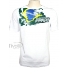 Camiseta Oficial The Ultimate Fighter - Tuf-brasil Ufc - Branco  - Ref: TFI12TSH010