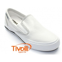 All Star Converse Skidgrip Leather EV - couro branco