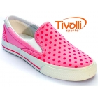 All Star Converse Skidgrip Polka Dot EV - rosa