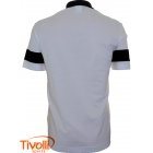 Polo Lacoste sport Regular Fit - Branco/Preto/Turquesa - Ref: 1173