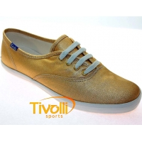 Tênis Keds Champion Canvas Metalic - Ouro