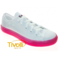 All Star Converse Chuck Taylor All Star Bright - Branco/Rosa