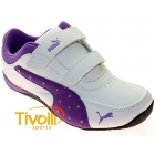 Tênis Puma Drift Cat 4 Diamonds - Branco/Roxo- 25 ao 32