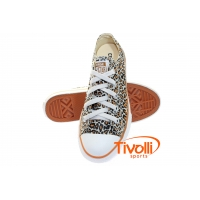 All Star Converse CT AS Print Animal OX Cheetah - Bege/Onça - Ref: CK3591740