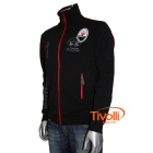 Jaqueta La Martina - Full Zipper EQ French Terry Maserati Preta