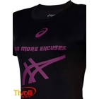 Camiseta Asics - Feminino W Training SS Excuses Preto
