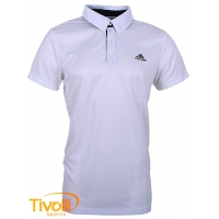 Camisa Polo Adidas masculina Performance - Sequentials branca
