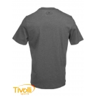 Camiseta Under Armour Charged Cotton Sportstyle - Cinza