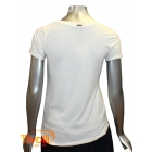 Camiseta Bobstore  - feminina off white estampada