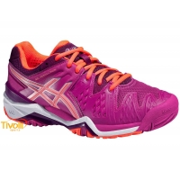 Tênis Asics Gel Resolution 6  - pink e coral