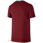 Camiseta Nike Team Court Crew - Vinho