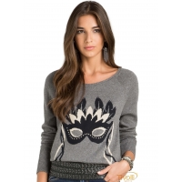 Blusa Tricot Bobstore - Pull Máscara Chumbo