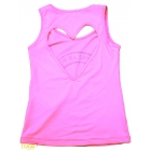 Regata Infantil Alto Giro Skin Fit Love Gym - Rosa Pink