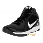 Tênis Nike The Air Overplay IX Basquete - Masculino Preto e Branco