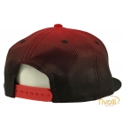 Boné New Era Snapback Original Fit Los Angeles Dodgers Fade Out - vermelho e preto