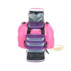 Lancheira Innovator Mini-Stealth 6 Pack Fitness Bag - Rosa