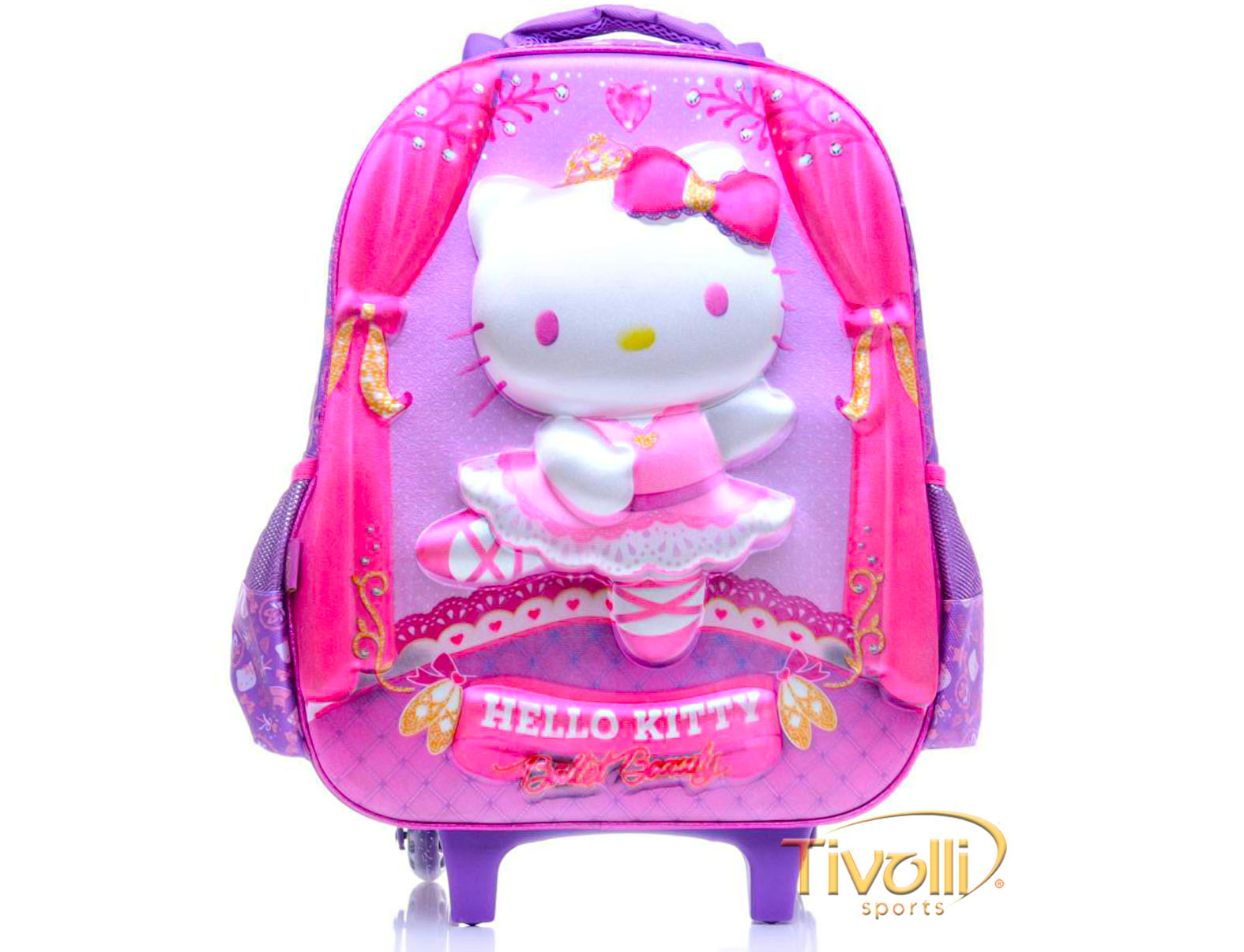 Mochila PCF Global Hello Kitty Ballet de Rodinhas