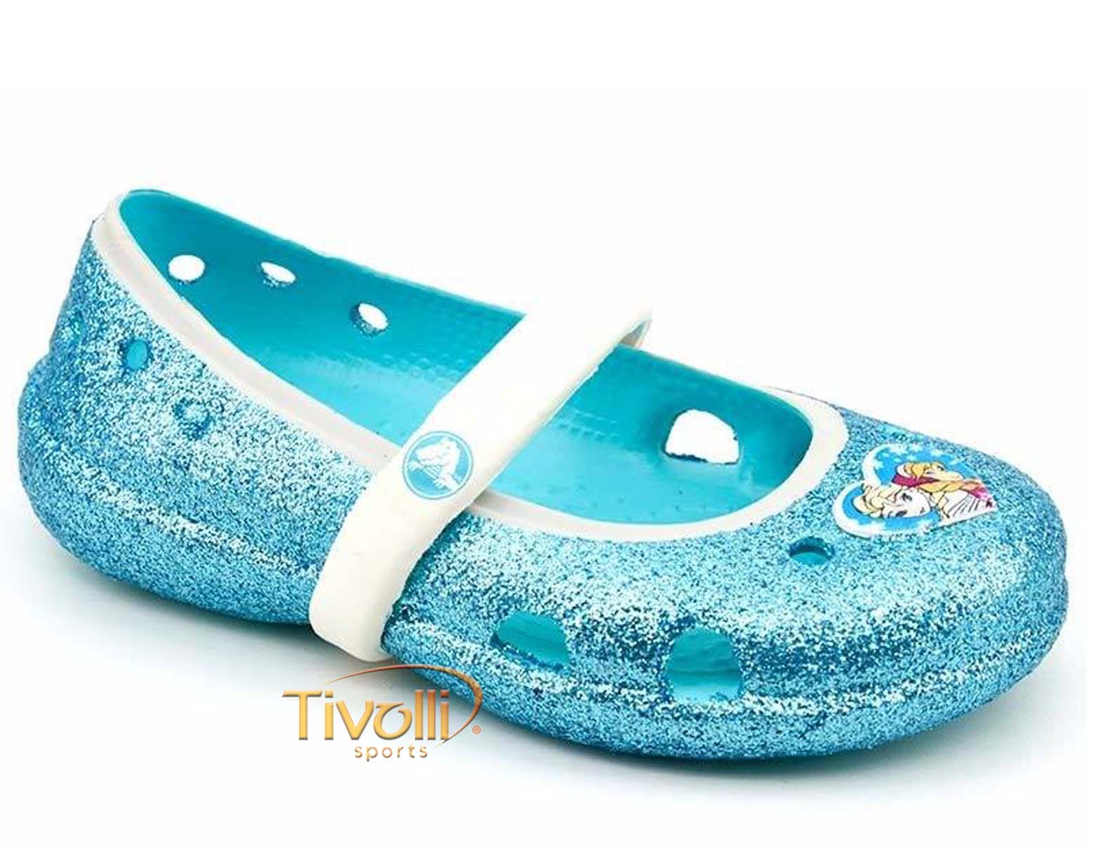 Sapatilha Crocs Keeley Frozen Flat