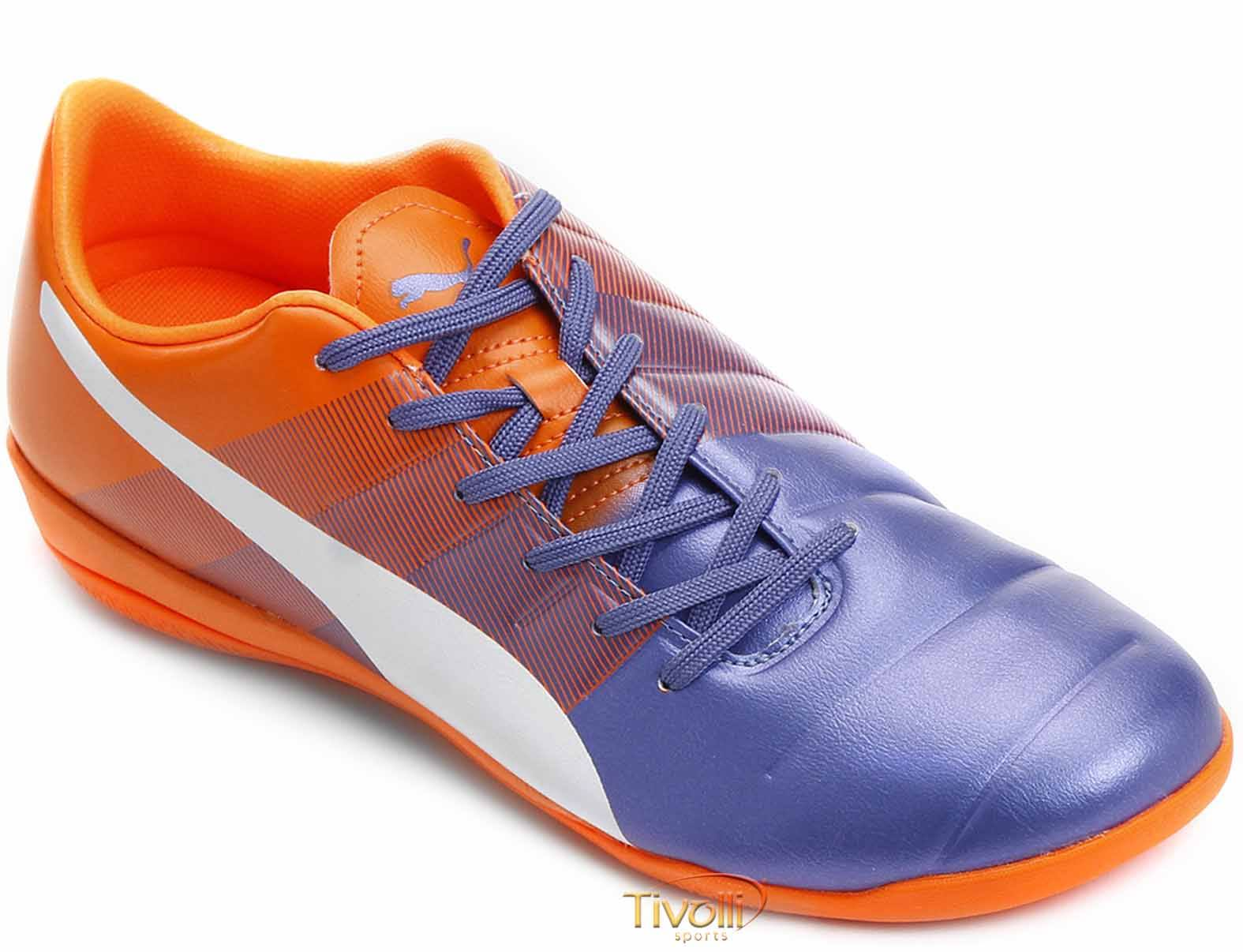 Chuteira Puma Evo Power 4.3 IC Futsal