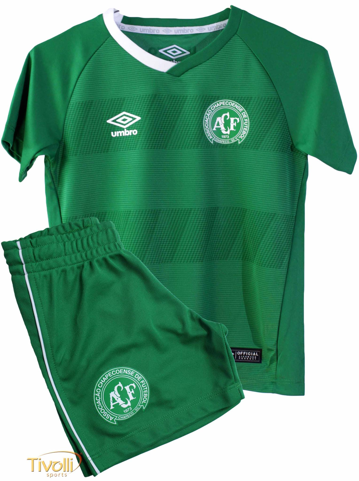 Kit Infantil Chapecoense Home I Umbro 2016