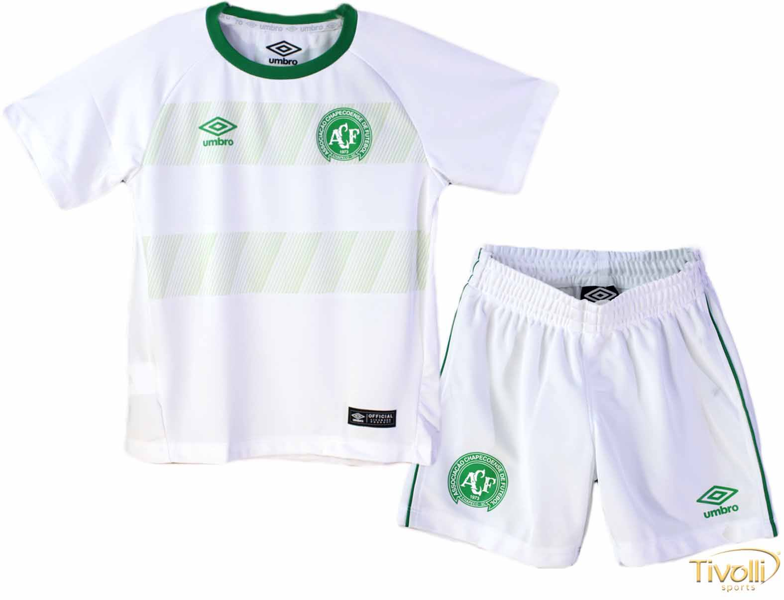 Kit Infantil Chapecoense II Away Umbro 2016