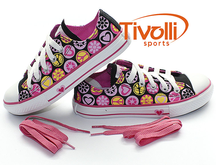 All Star Converse CT AS Print Peace e Love OX