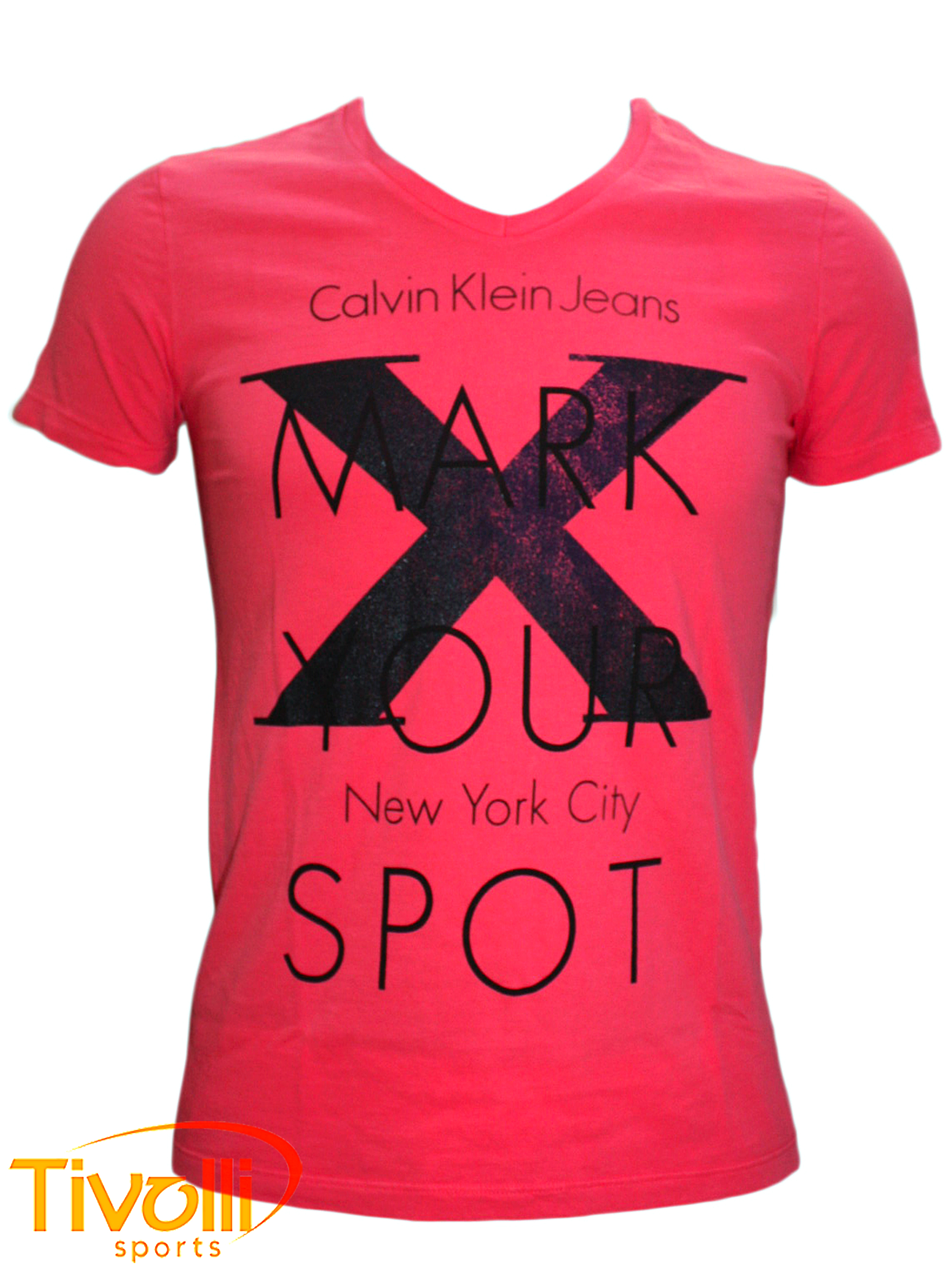 Camiseta Calvin Klein Mark Your Spot