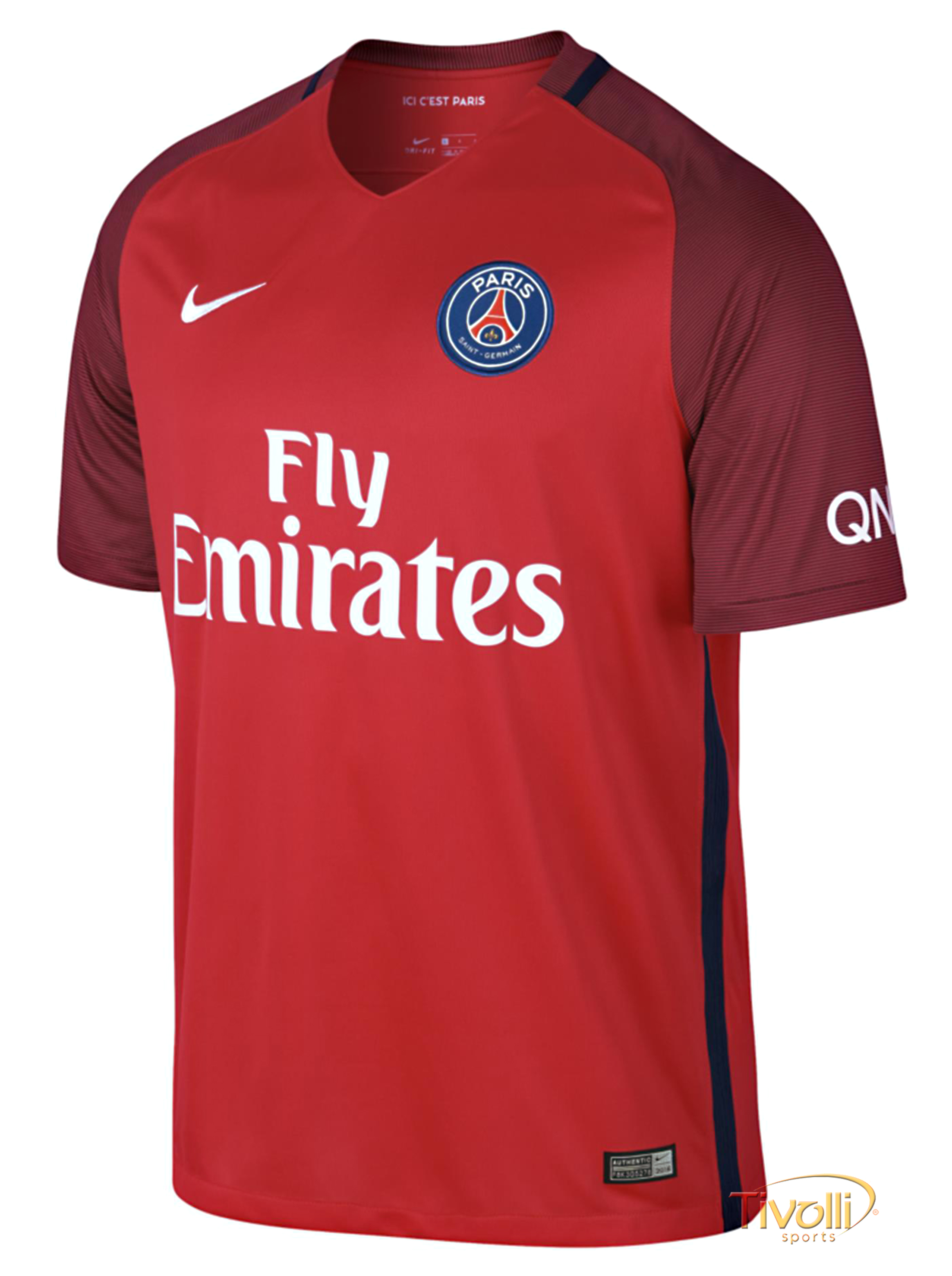 Camisa Paris Saint Germain PSG II Away 2016/2017 Nike