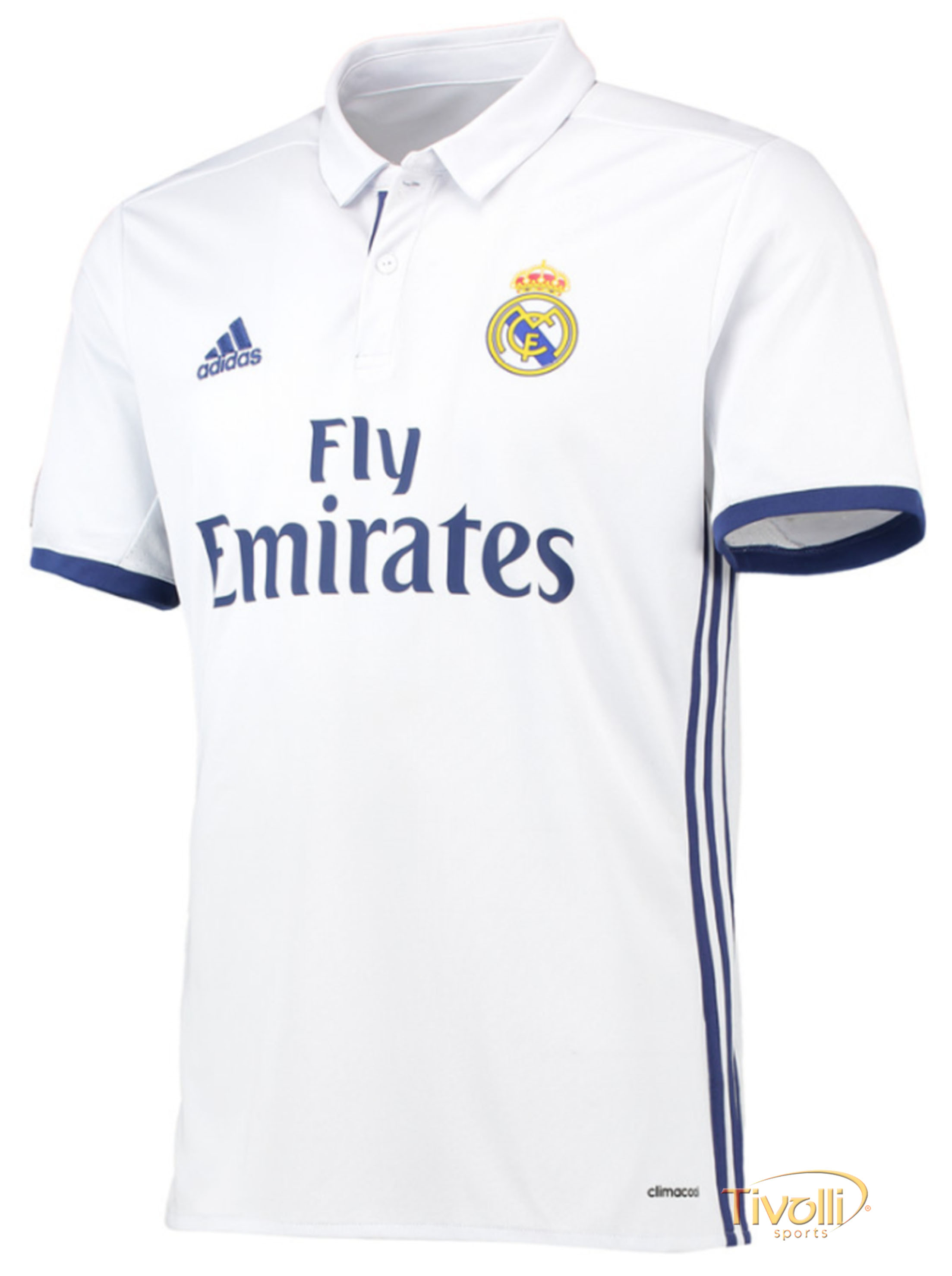 Camisa Real Madrid I Home 2016/17 Adidas